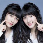 ミスドCMの双子の姉妹はハーフ?可愛いまゆげや見分け方も!